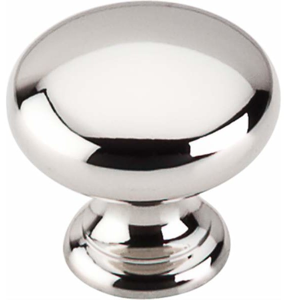 Top Knobs: Mushroom Knob 1 Inch - Brushed Satin Nickel - Contemporary - Cabinet And Drawer Knobs ...