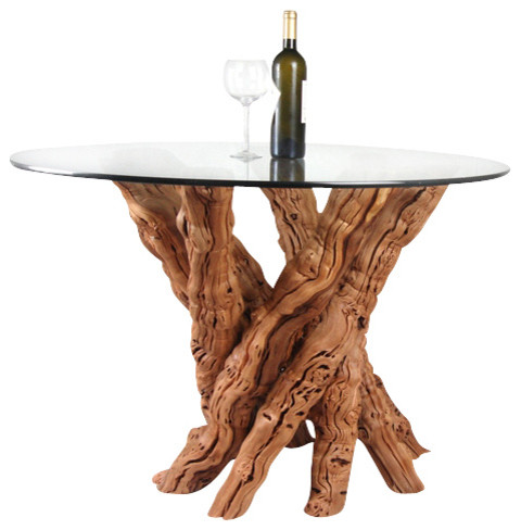 Vinya Calabrese Old Vine Grapevine Dining Table Rustic Dining - Grapevine coffee table