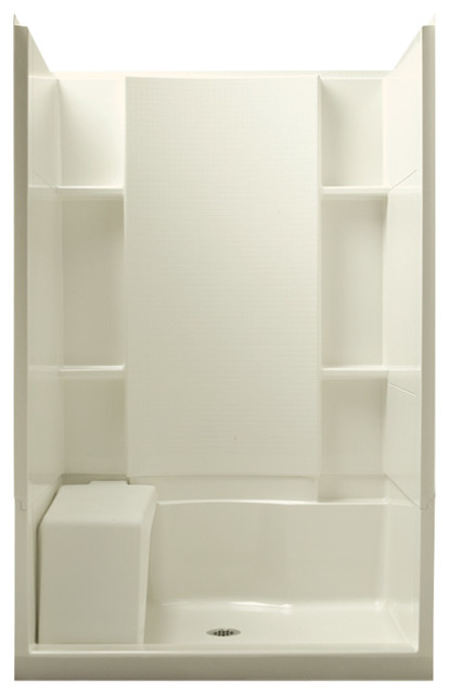 Sterling Accord 36 Quot X48 Quot X74 75 Quot Vikrell Alcove Shower Kit
