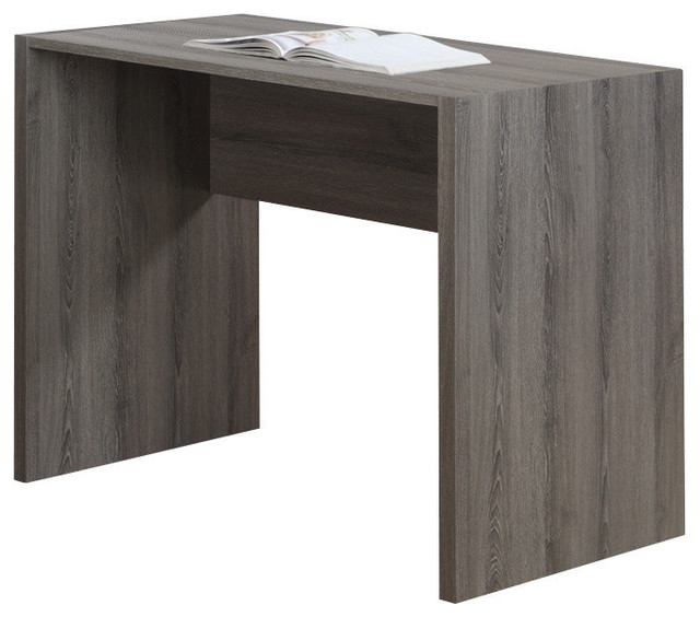 Monarch 36 Quot Computer Desk Dark Taupe Transitional