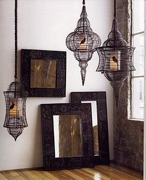 Bird Cage Lamps