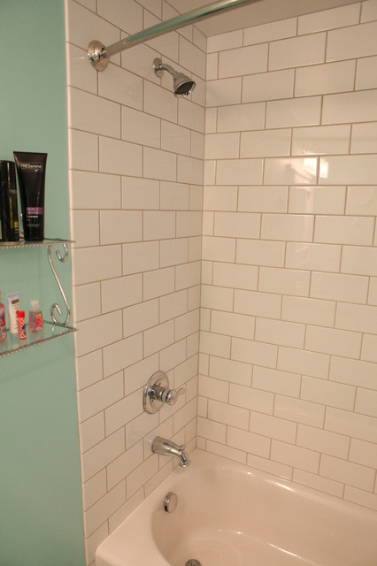 Combathroom Baths And Showers : Bathtub Shower Combo Tile #2