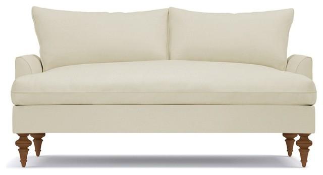Saxon Apartment Size Sofa, Buckwheat, 72\