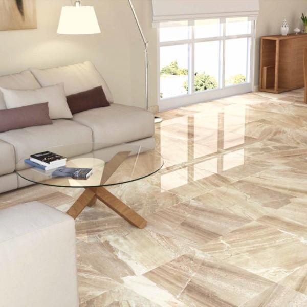Manhattan Cream Floor Tiles - Large Tiles - Direct Tile Warehouse