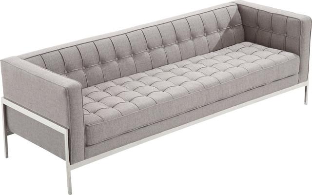 Avon Midcentury Tweed Sofa.