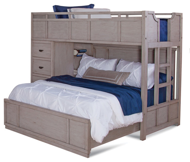Twin-Over-Full Loft Bed.