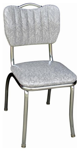 Handle Back Retro Kitchen Chair Midcentury Armchairs