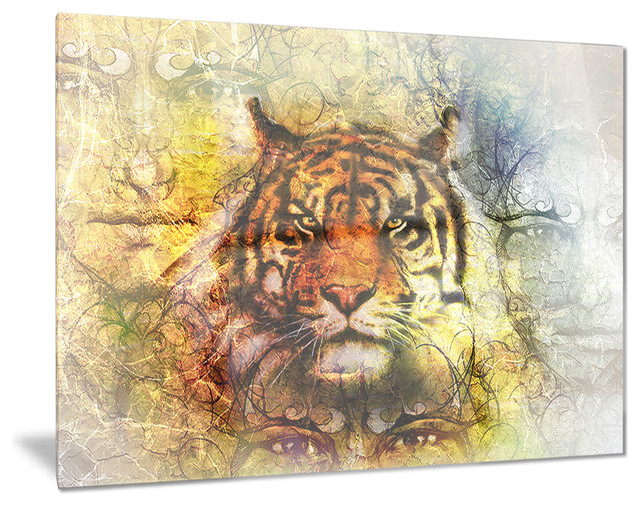 Mighty Tiger With Mystic Face\