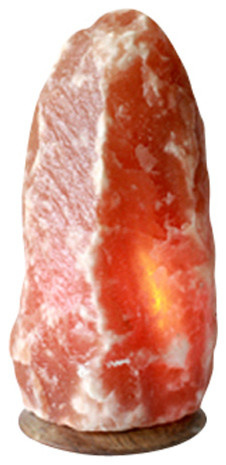 Himalayan Salt Lamps Fair Trade : So Well Fair Trade Amber Himalayan Salt Crystal Lamp - Eclectic - Table Lamps - by So Well LLC