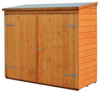 Rowlinson WS1881H Allstore Wooden Outdoor Garden Lockable Storage Unit