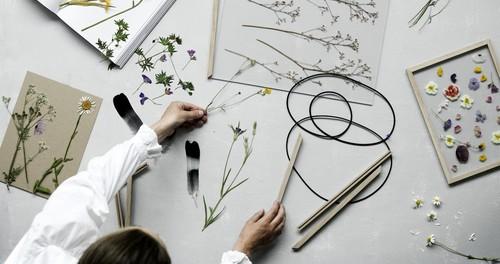 9 kreative Deko-Ideen für Trockenblumen und getrocknete Pflanzen