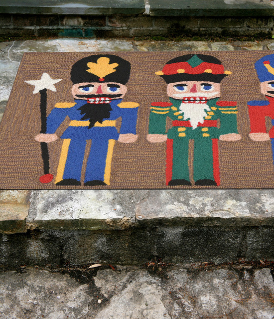 "Frontporch Nutcracker Rug, Multi, 20""x30"""