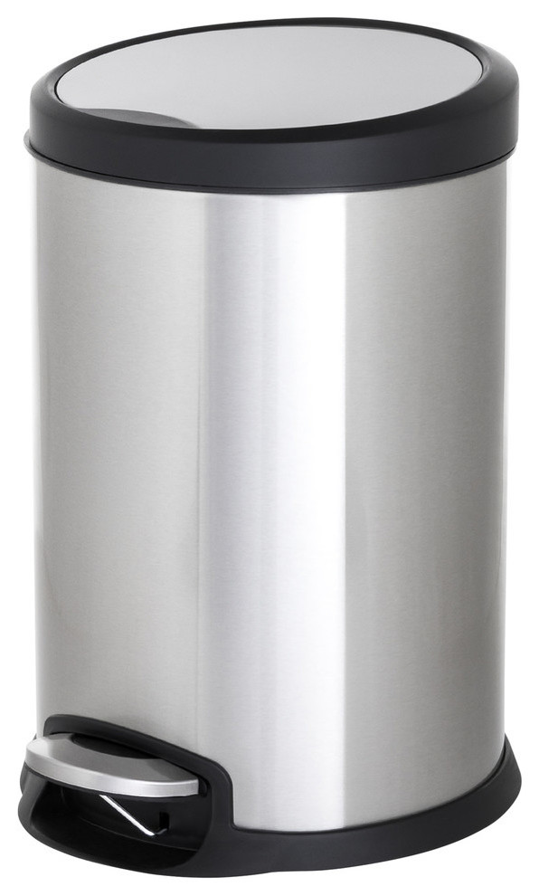 ToiletTree Products Stainless Steel Trash Can, 12 Liter