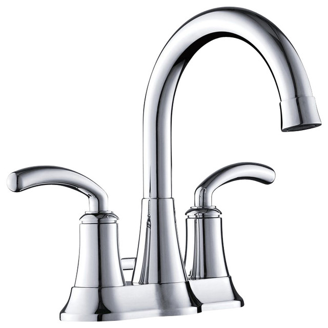 Yosemite 2 Handle 4 Center Set Lavatory Faucet In Polished Chrome Con