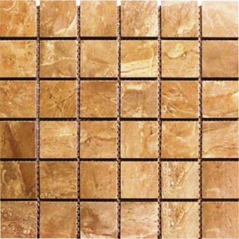 "Glazed Tile, Onyx Noche, 30 Sq. Ft., 2""x2""."