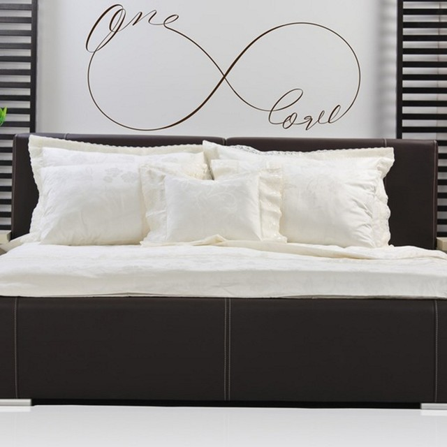 One Love Infinity Symbol Wording Vinyl Wall Decal Wall Lettering