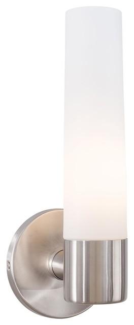 George Kovacs Saber 1 Light Bathroom Lighting Fixture Steel