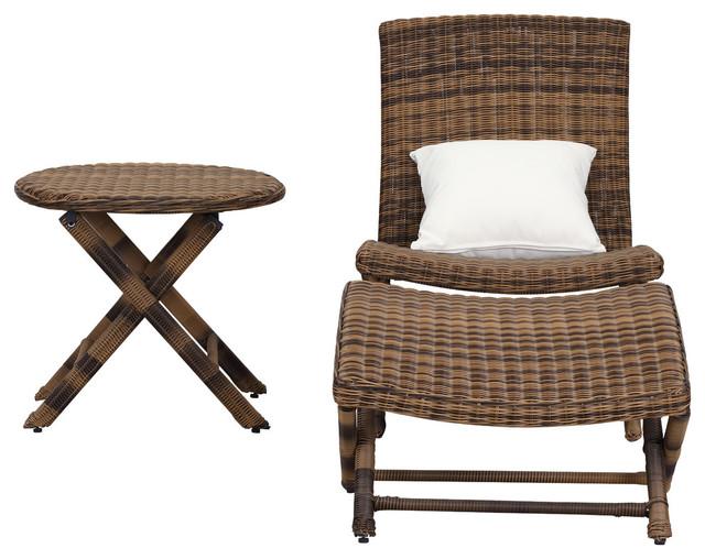 Safavieh Mendoza Lounge Chair Set, 3-Piece