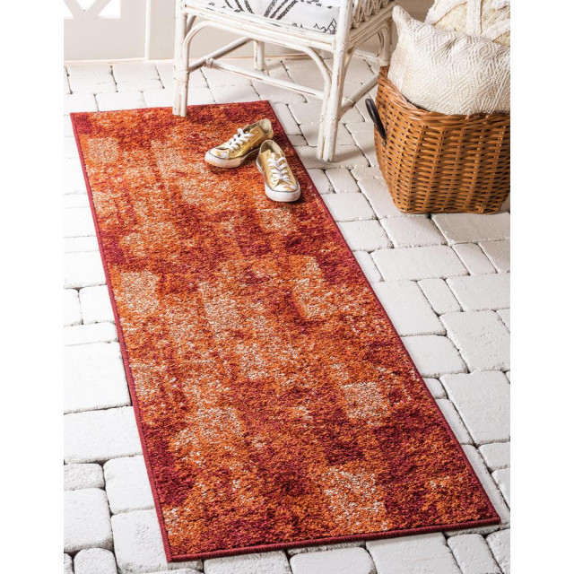 Unique Loom Autumn Plymouth Rug 2 X6 Contemporary Area Rugs By Bisonoffice