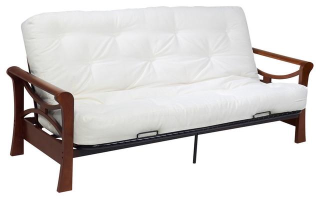 diablo dark cherry futon full craftsman futons wolf corporation   diablo dark cherry futon  u0026 reviews   houzz  rh   houzz