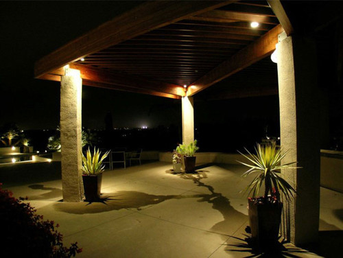 Best landscape lights wired vs solar aloadofball Image collections