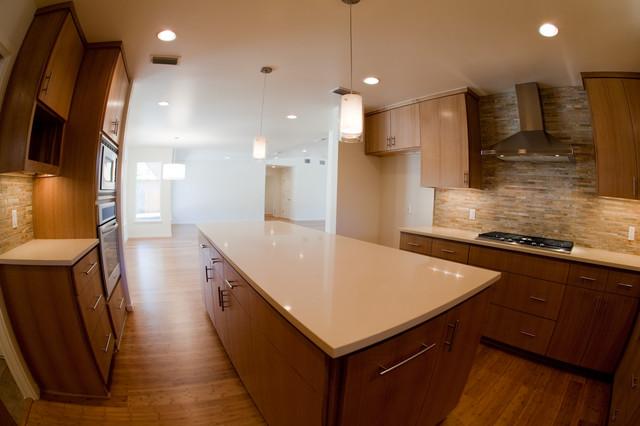 Trendy home design photo in Austin
