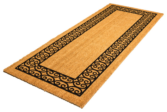 doormat greek design door mats mat single coir key of image entrance sizes