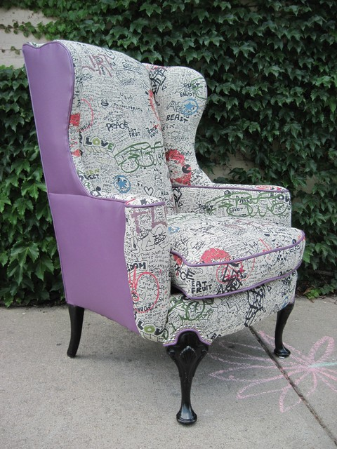 Reupholstered Furniture Eclectic