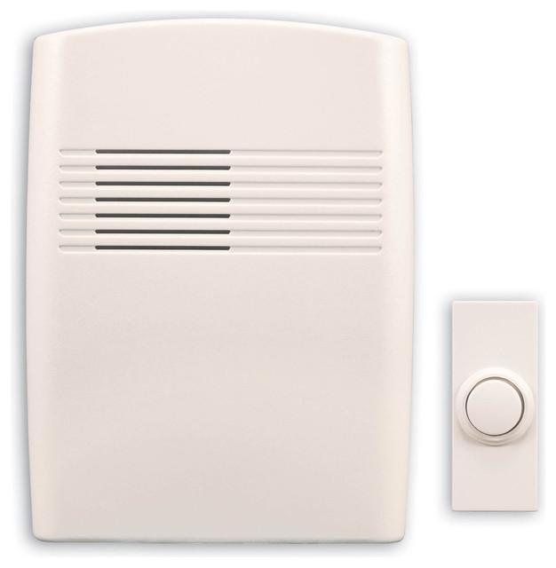 Doorbell Button  2 Rose, Flat Black