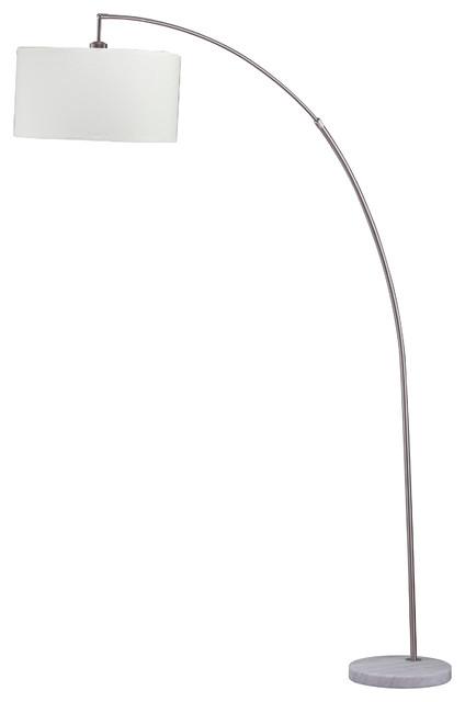 86 Tall Floor Arc Lamp Allegro
