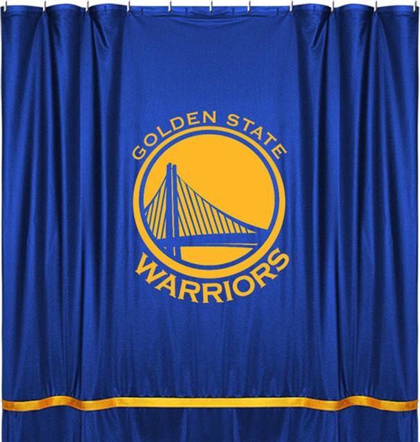 Nba Golden State Warriors Shower Curtain Basketball