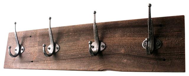 Knute Reclaimed Wood Coat Rack.