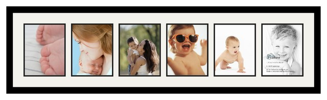ArtToFrames Collage Photo Frame  with 6 - 8x10 Openings