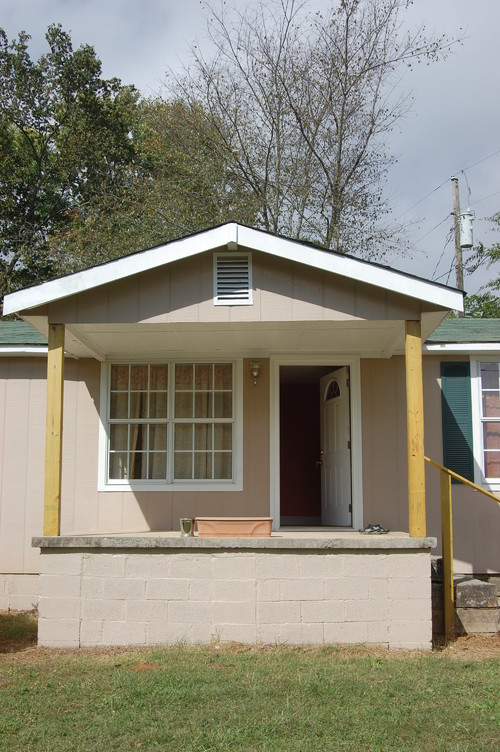 I Need Help Picking An Exterior Paint To Go With A Green Roof