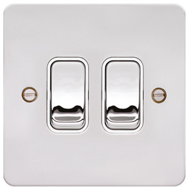 Light Switches. Wall Light Timer Switch These Light Switches Are ...:hager 10ax 2 gang 2 way wall light switch polished steel u0026amp white 389  x 390.,Lighting
