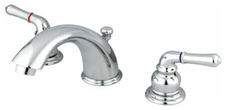 fancy kitchen sinks classic magellan polished chrome lavatory faucet 3672