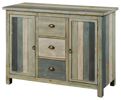 Sanibel Cabinet, 3-Drawers, Multi Color
