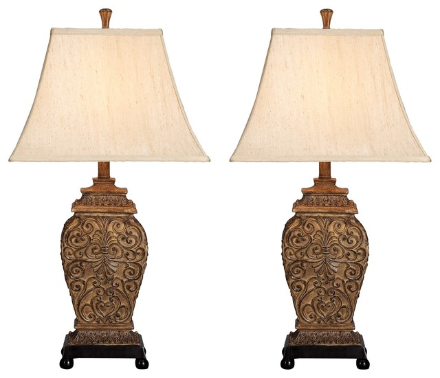Aspire Home Accents Inc Fallon Table Lamps Set Of 2