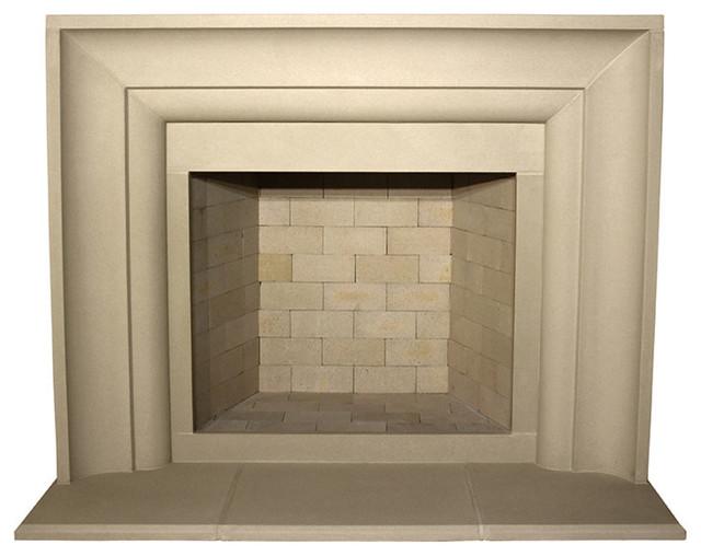 Avant Cast Stone Fireplace Mantel Transitional Mantels By Devinci