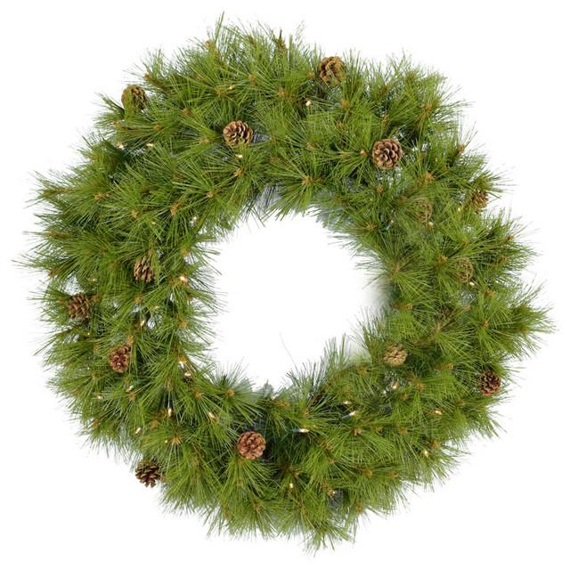 """36"""" Eastern Pine Artificial Holiday Wreath, FFEP036W-5GRB"""