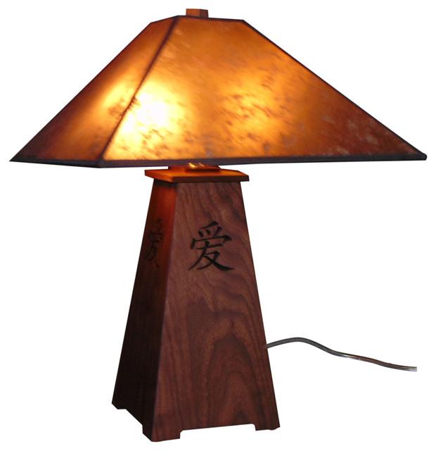 Sausalito Table Lamp Asian Table Lamps By Gene T Kessler