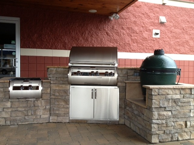 Fire Magic Amp Big Green Egg Outdoor Kitchen By Fine S Gas