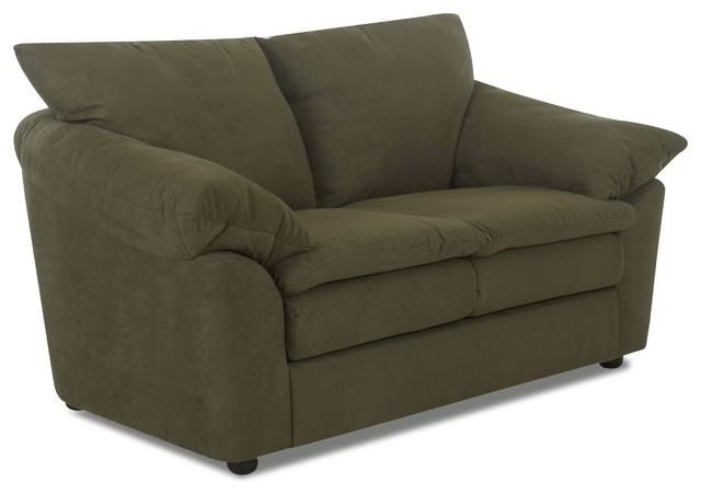 Klaussner Furniture Heights Loveseat View In Your Room Houzz