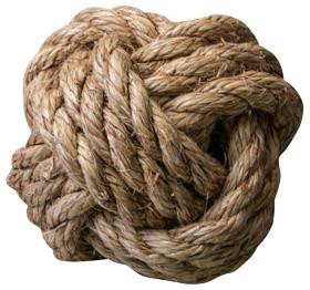 Decorative Rope Knot, Manila