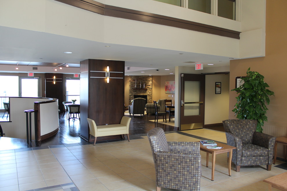 retirement community interiors- the royale, kingston