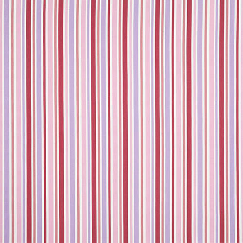 Candy Stripe Fabric Colour Pink Curtain Fabric By