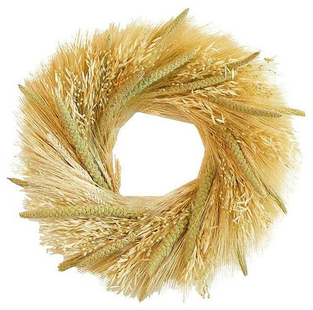 "20"" Grains Wreath."