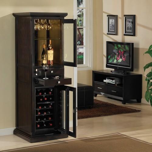 Meridian 18 Bottle Wine Cabinet