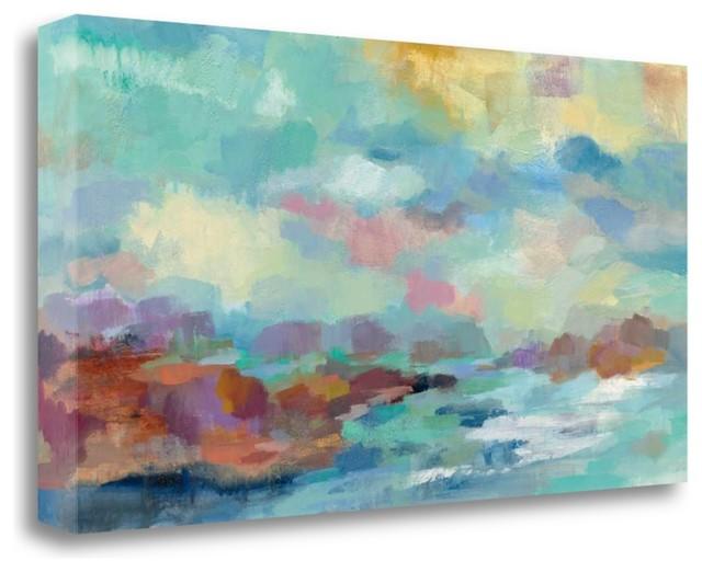 Giclee Canvas Wall Art Archipelago by Silvia Vassileva