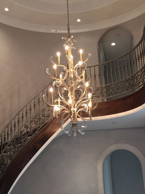 Traditional Foyer Chandeliers : Foyer chandelier traditional salt lake city by